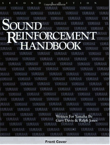 Cover of The Sound Reinforcement Handbook 2nd Edition